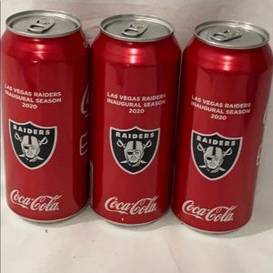 Las Vegas Raiders 2020 Inaugural Season Coca Cola